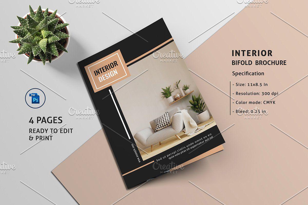 Interior Design Brochure V899 Brochure Design Interior Brochures Creative Brochure