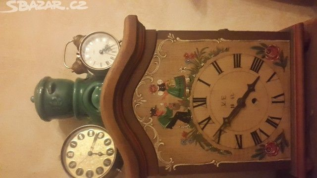 Malované hodiny a budiky - obrázek číslo 1
