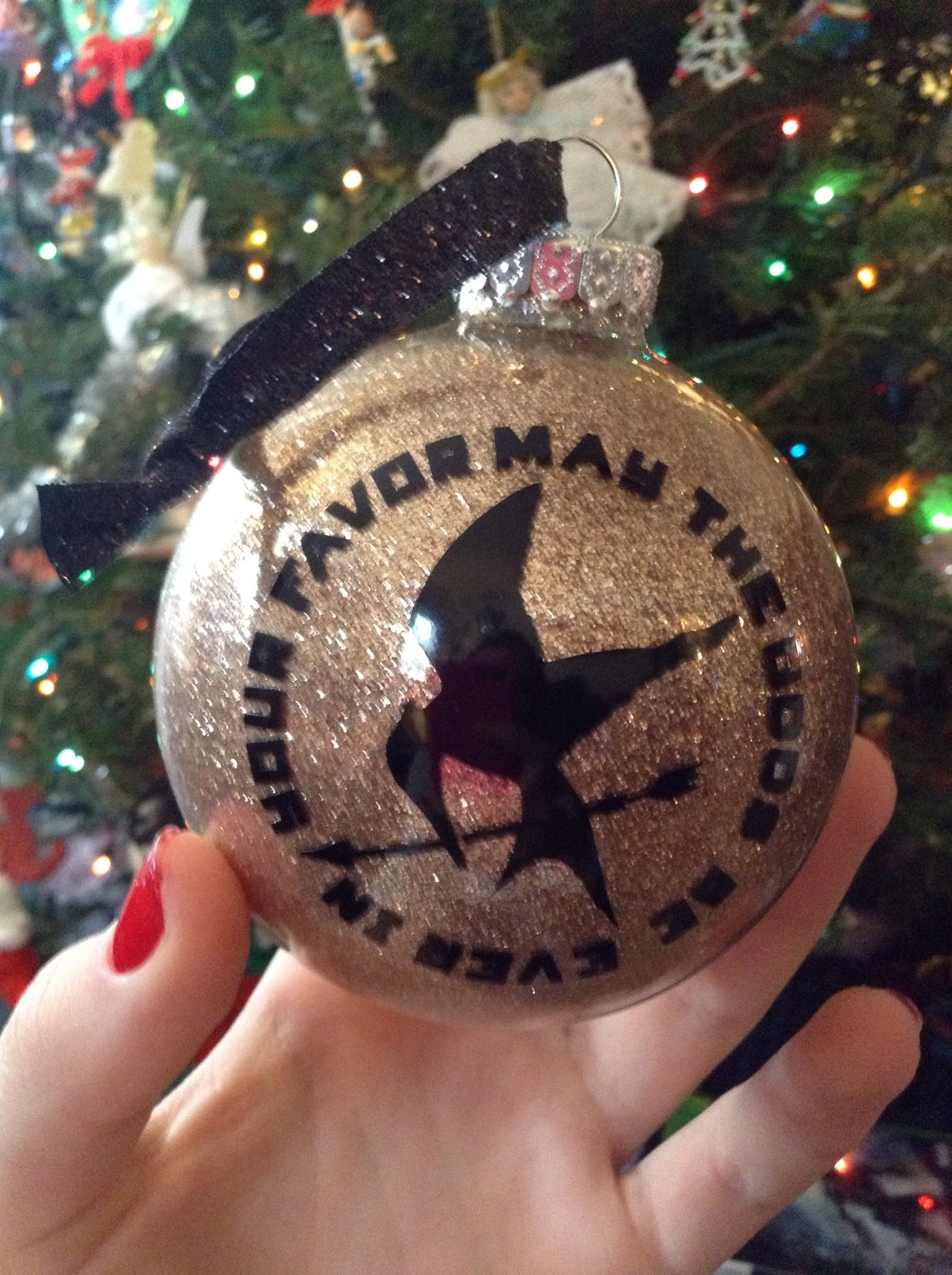 Hunger Games Ornament Love