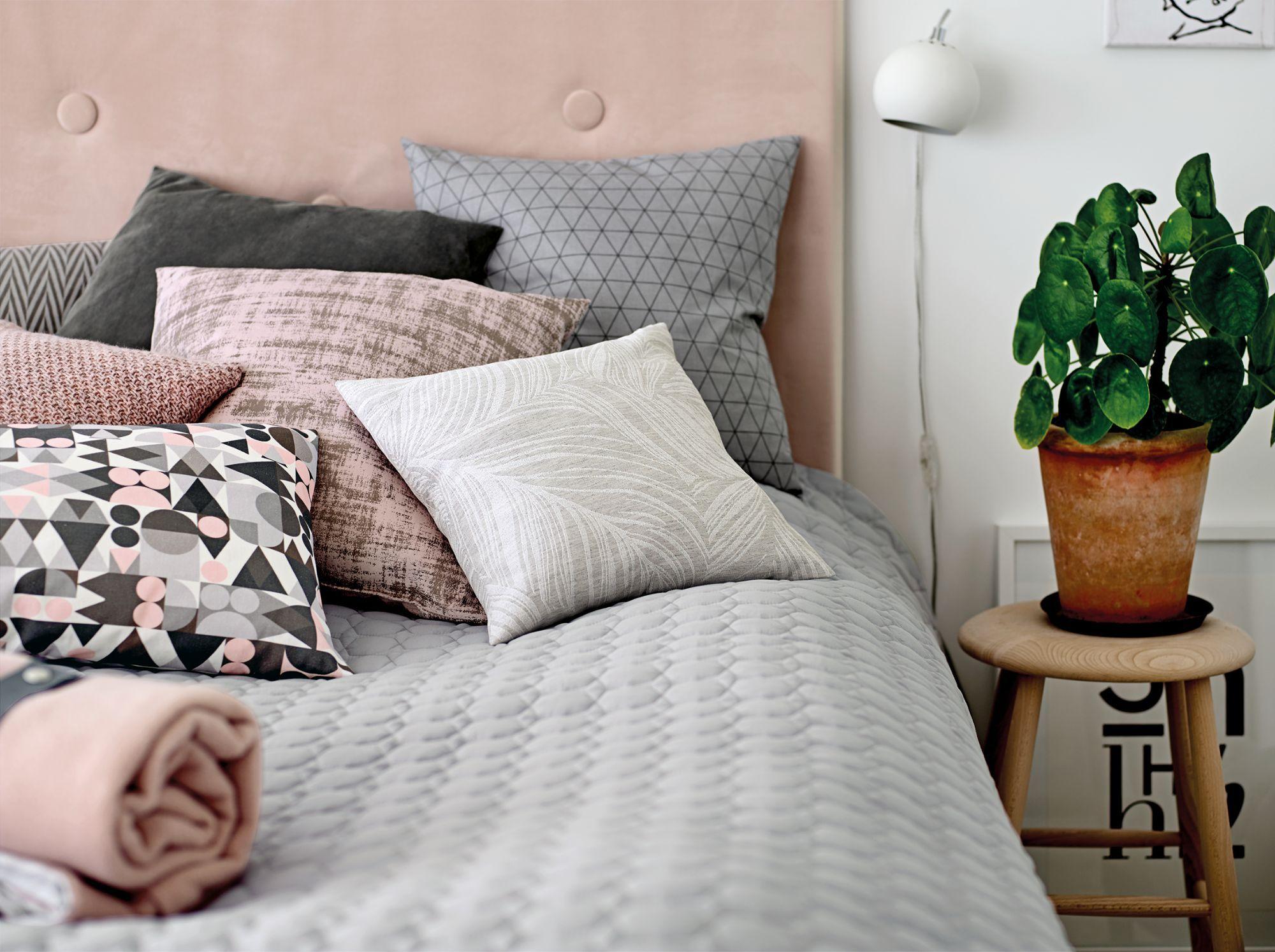Bezaubernd Wohnzimmer Grau Rosa Beste Wahl Gewebe, Weiß Mit Grau/rosa Muster