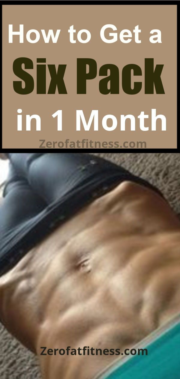 11 Best Ab Workouts To Get A Six Pack Abs In One Month Ab