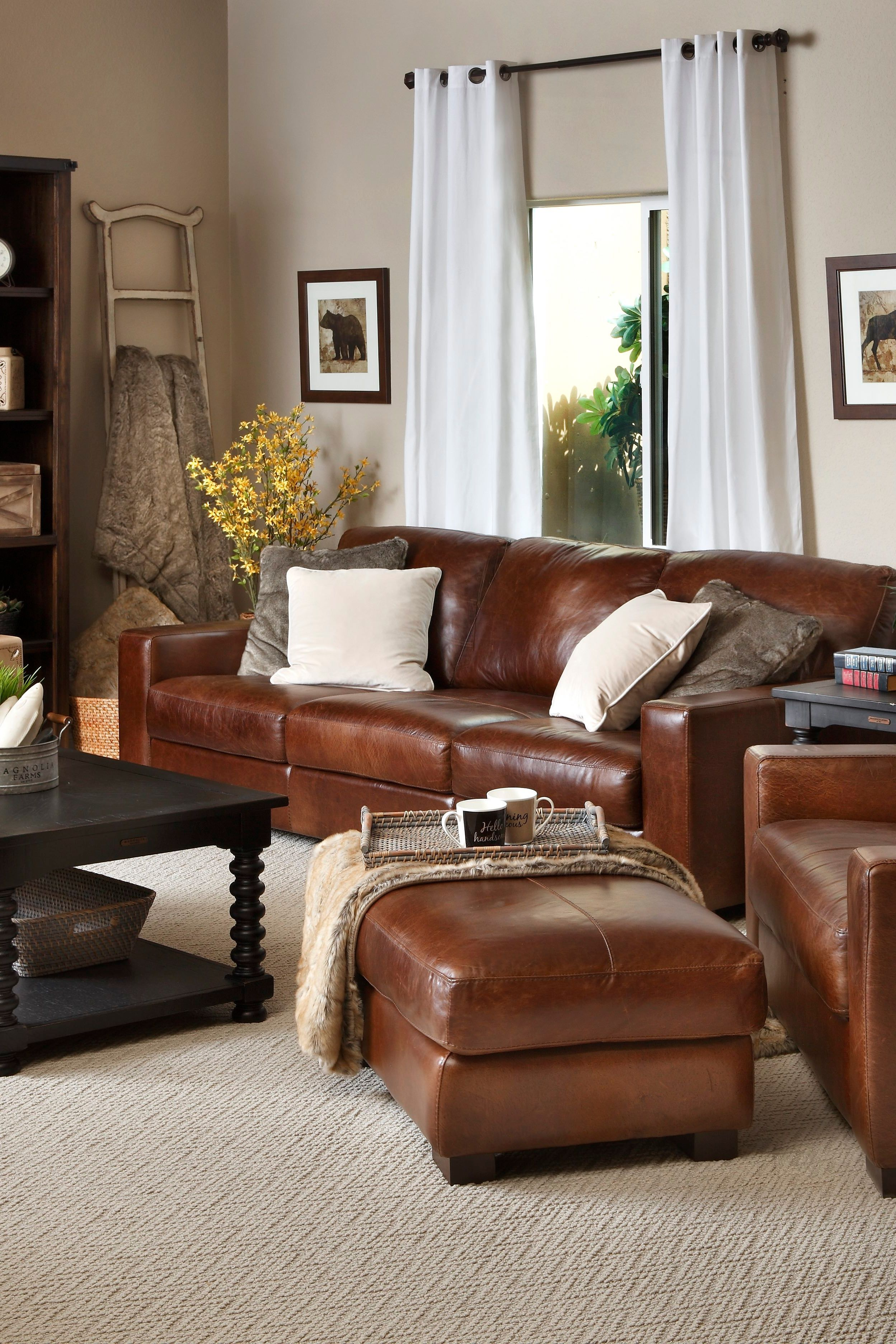 Durango Sofa In 2020 Brown Leather Sofa Living Room Leather