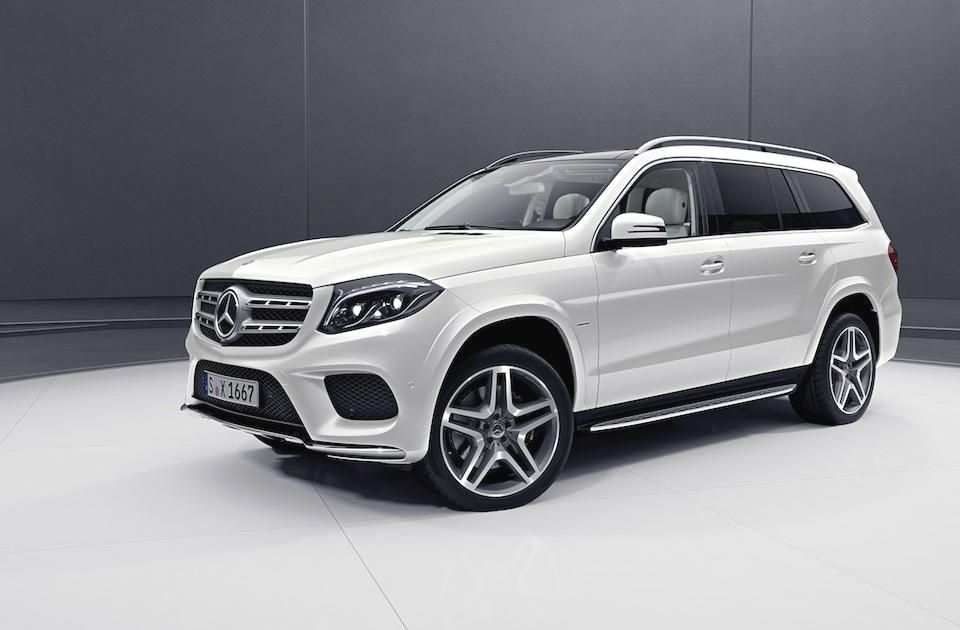 Mercedes Debuts Grand Edition Gls Class At The Detroit Auto Show