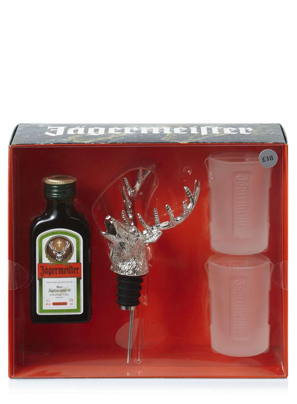 Jagermeister Stag Bottle Pourer Shot Glasses Alcohol Gifts Christmas Jagermeister Shot Glasses Bottle