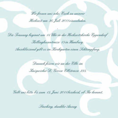 Hochzeitseinladung Text Hochzeit