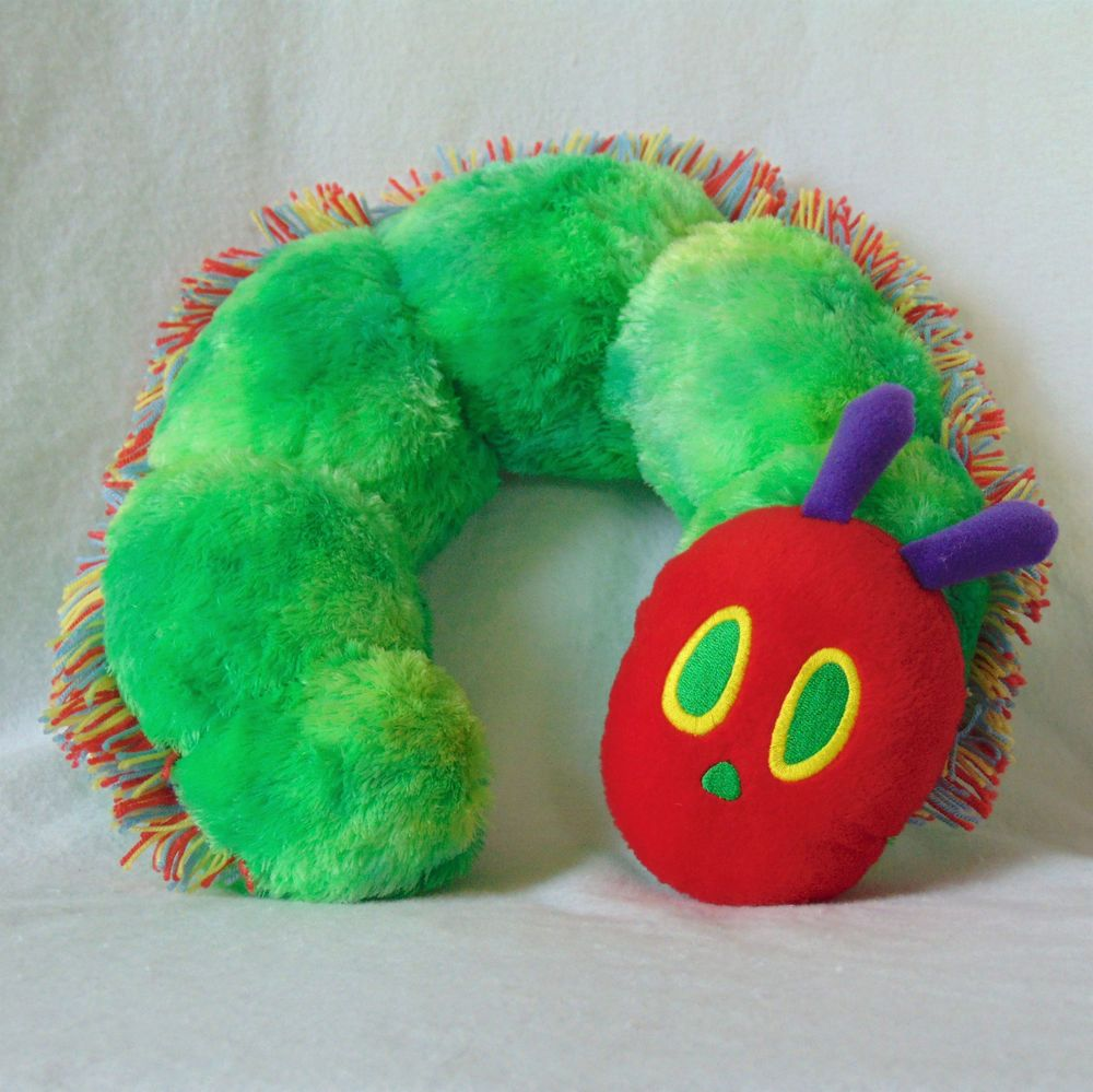 Eric Carle The Very Hungry Caterpillar Plush Stuffed Child S Neck