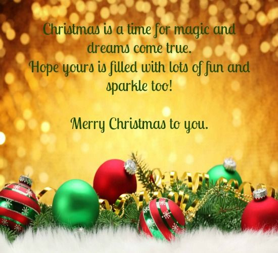 Share A Sparkling Christmas Fun Ecard With Your Loved Kindle