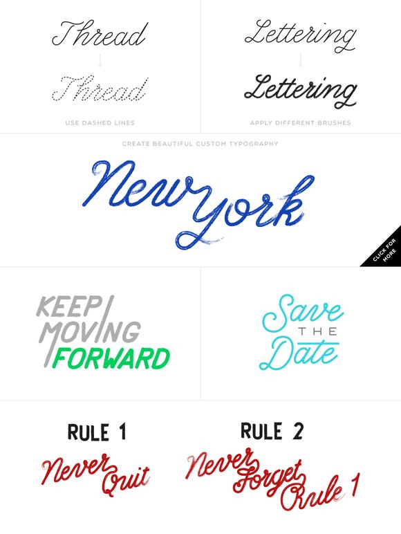 Path Type – Single Stroke Glyph Set by Sivioco   Digital