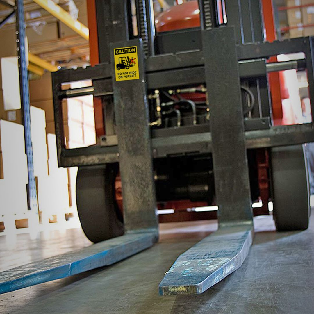 Injuries and accidents involving forklifts can happen at