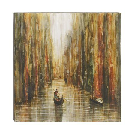 Beautiful Aluminium Canvas Art, Size: 0.5 inchD x 40 inchW x 40 inchH, Multicolor