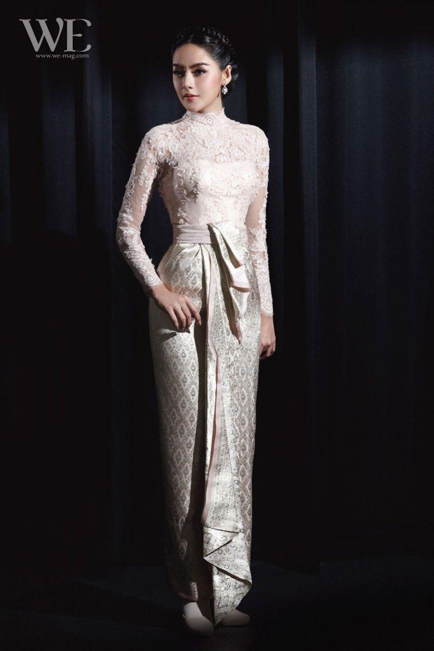 Khmer weddng attire for the reception. | kebaya | Pinterest ...