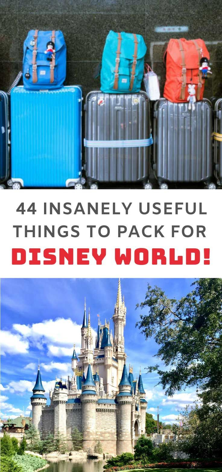 44 Insanely Useful Things to Pack for Your Disney Vacation -