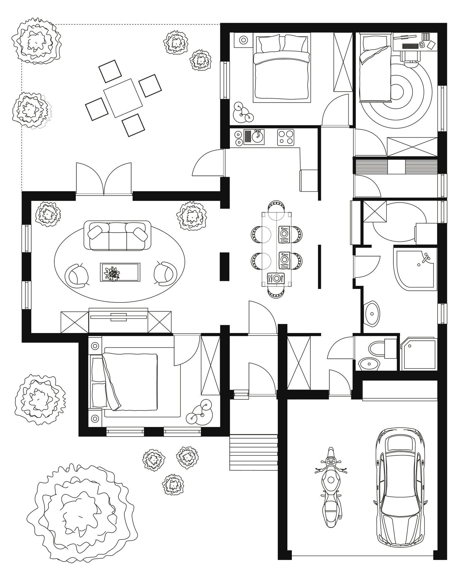 Logiciel Pour Plan De Maison Sketchup La Modelisation 3d Accessible A Tous Logiciel Plan Maison Plan Maison Plan De Maison