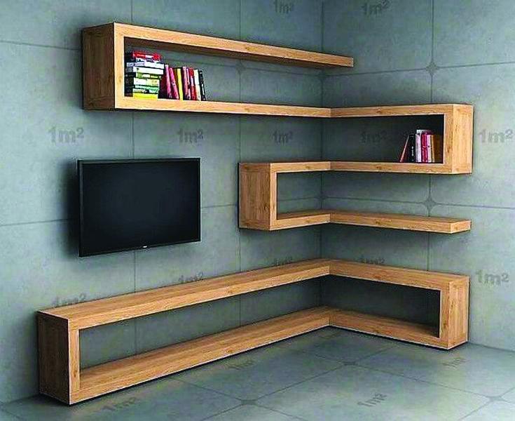 Different Corner Kitchen Shelves For Sale To Inspire You Corner Shelf Design Wall Shelves Design Floating Corner Shelves