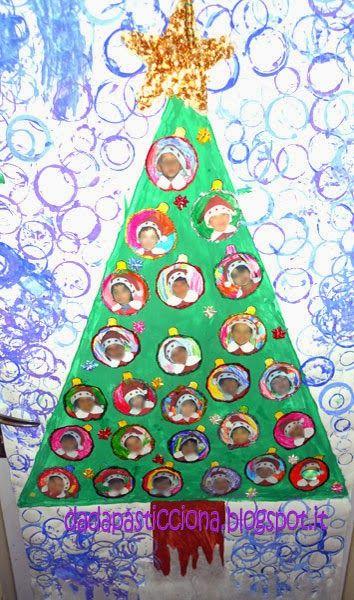 Dada pasticciona addobbi aula preschool christmas for Addobbi aula natale