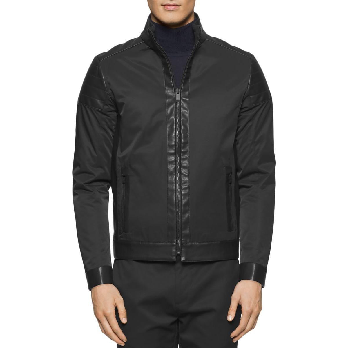 118 80 Calvin Klein Mens Black Winter Warm Casual Bomber Jacket Outerwear L Bhfo 8434 Calvin Klein Me Outerwear Jackets Casual Bomber Athletic Jacket [ 1200 x 1200 Pixel ]