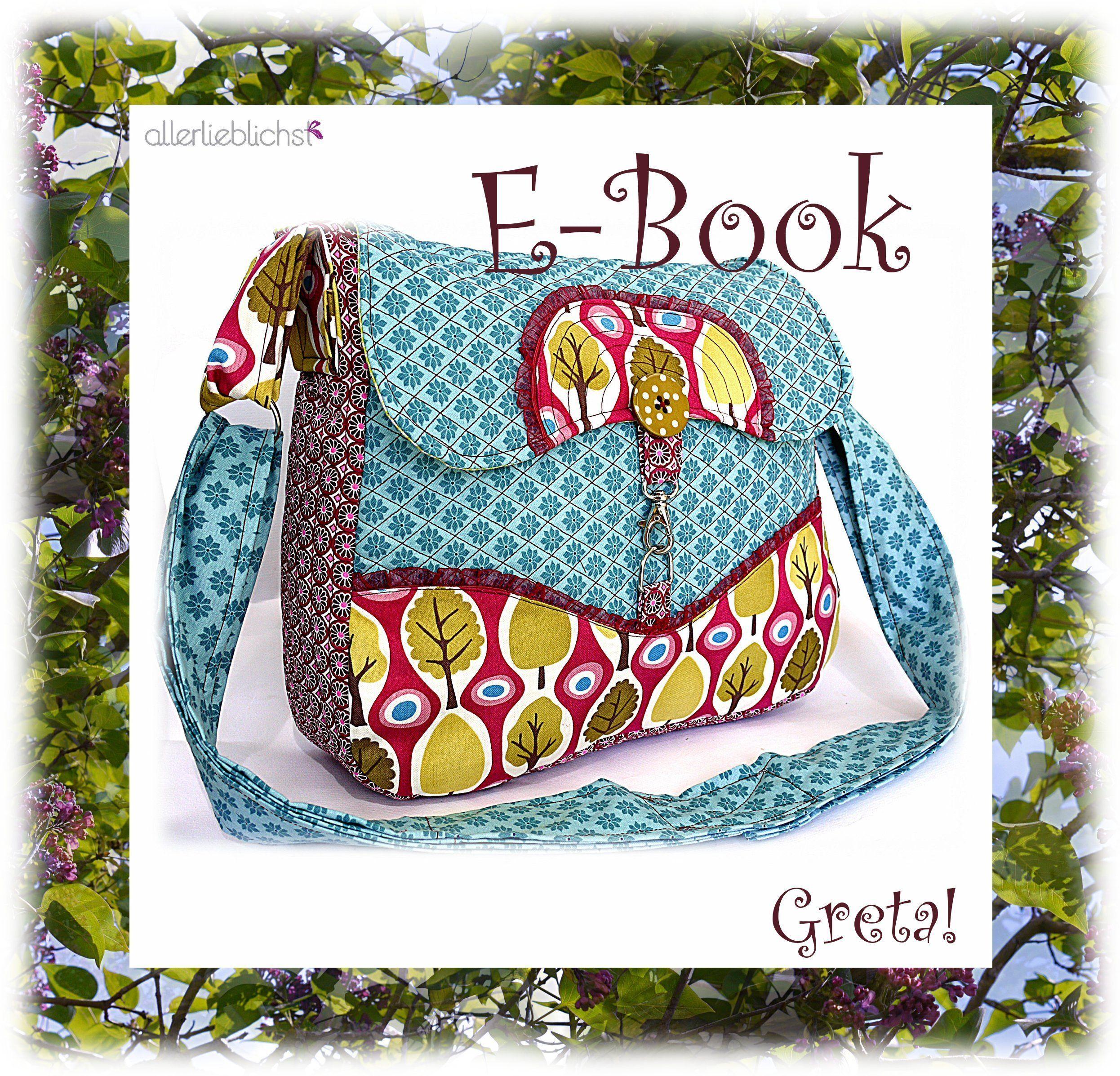 Tasche Greta! by #allerlieblichst | Greta | Pinterest ...