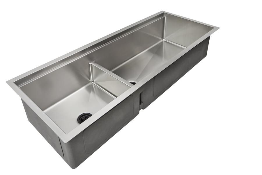 Ledge Kitchen Sinks Create Good Sinks Ledge Sink Double Bowl