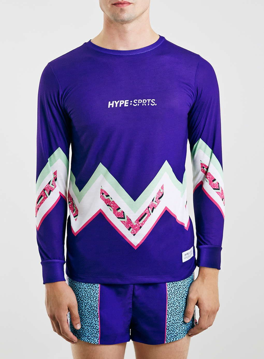 Hype Blue Sports TShirt* TOPMAN EUROPE