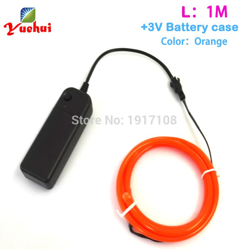 10 Color New Brand 5.0mm 1Meter Choice Flexible LED neon light ...