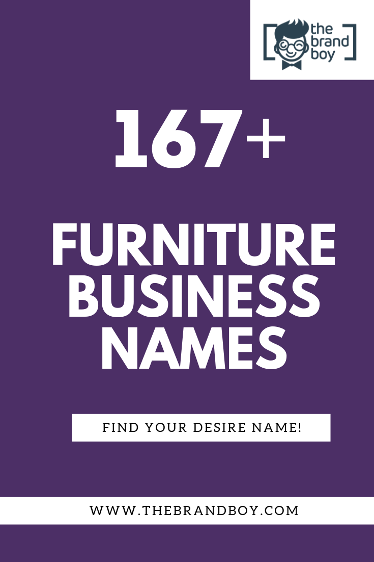 387 Catchy Furniture Shop Names Ideas Shop Name Ideas Business