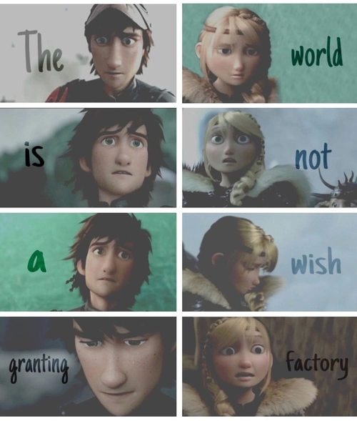 hiccup and astrid httyd2
