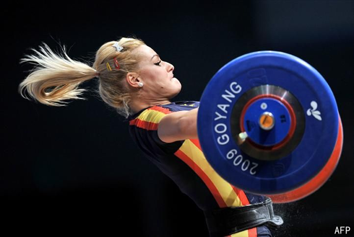 Lidia Valentin   Weightlifting | Tumblr