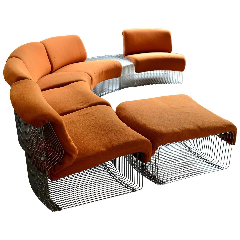 Pantonova Sectional By Verner Panton Modern And Bench # Muebles Di Giano