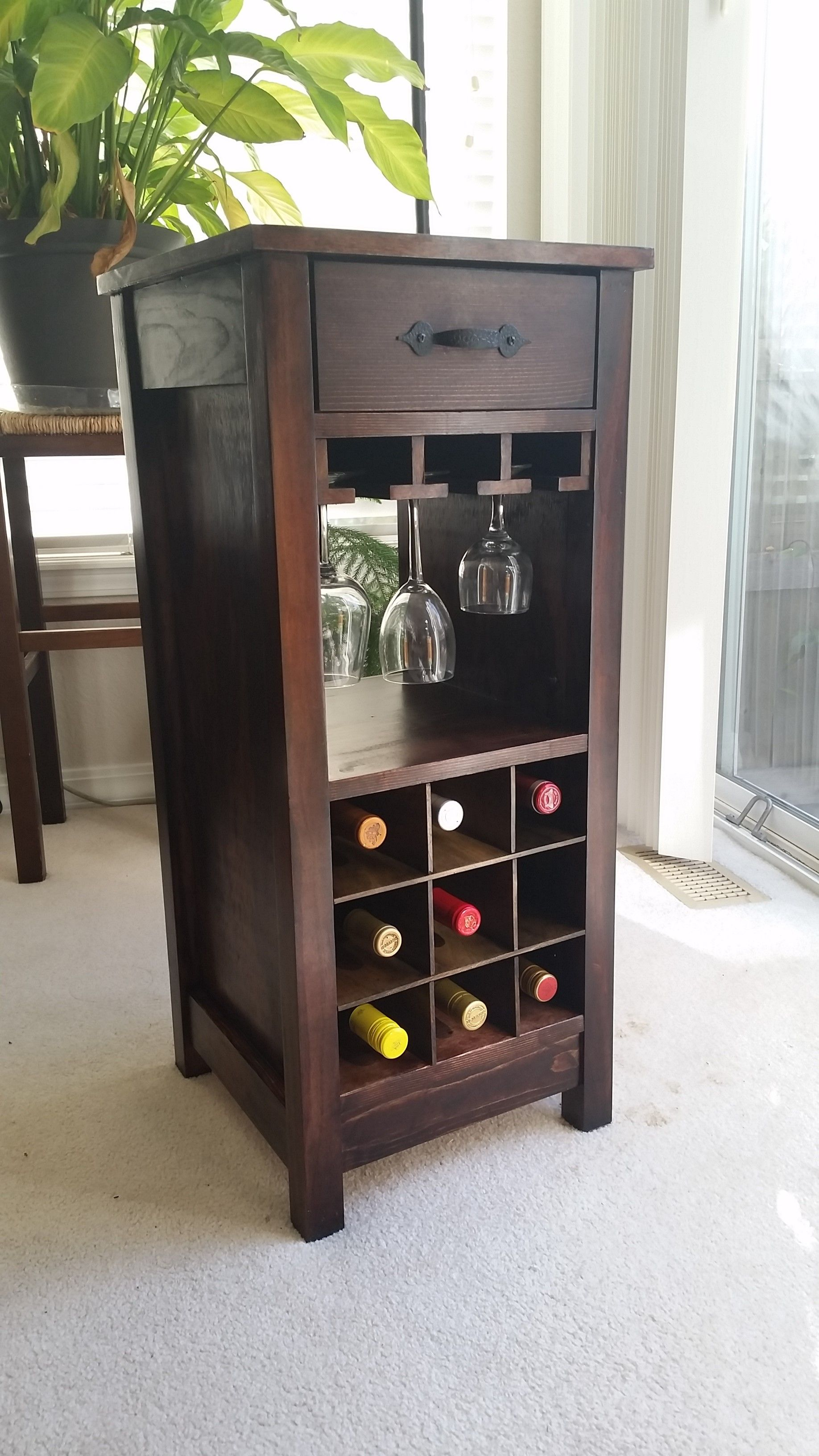 Mini Wine bar Do It Yourself Home Projects from Ana