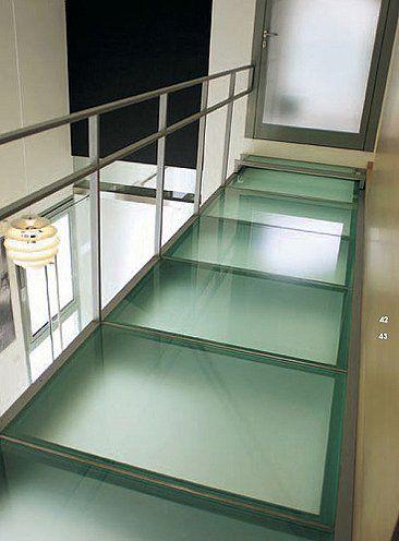 Piso De Cristal Y Estructura Suelo De Vidrio Balcon De Vidrio Pisos