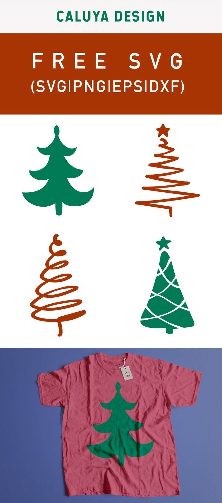 Download Free Handdrawn Christmas Tree SVG, PNG, EPS & DXF | Cricut ...