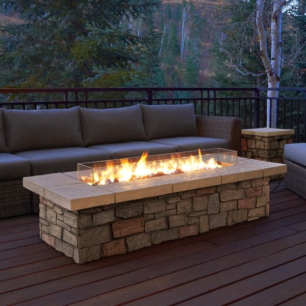 Shop Wayfair Supply For All Outdoor Fireplaces To Match Every Style And Budget Enjoy Free Shipping On Most Stuff Even Big S Propane Fire Pit Table Fire Pit Backyard Backyard Seating