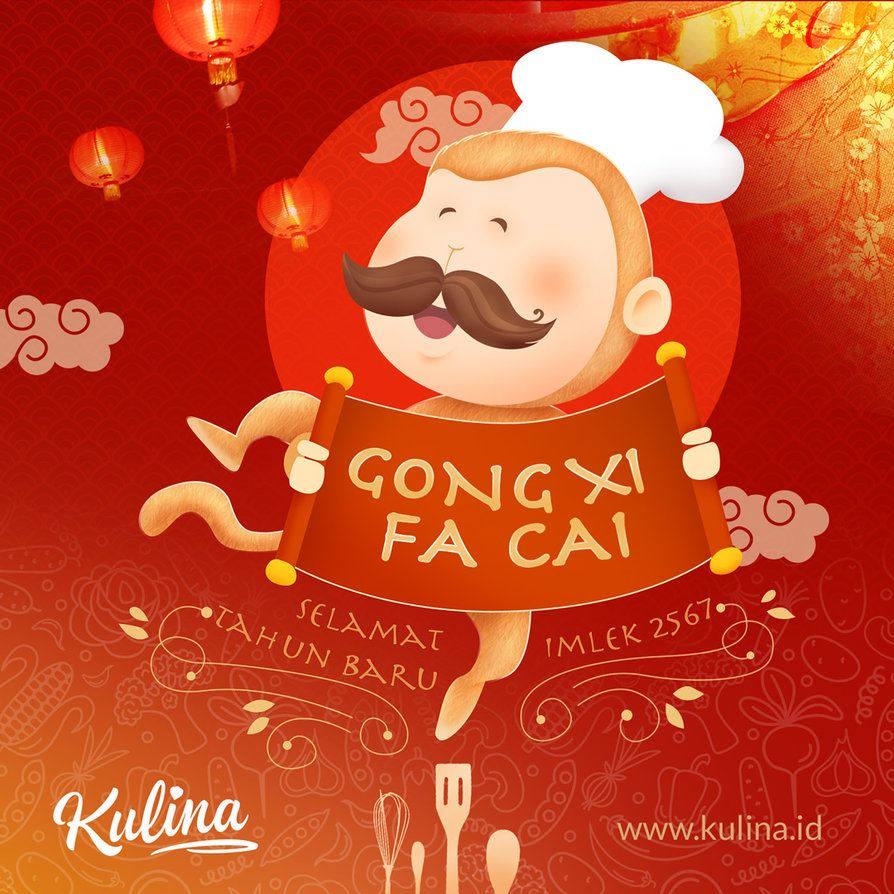 Gong Xi Fa Cai 2567 Ad And Creative Pinterest Jakarta And Catering