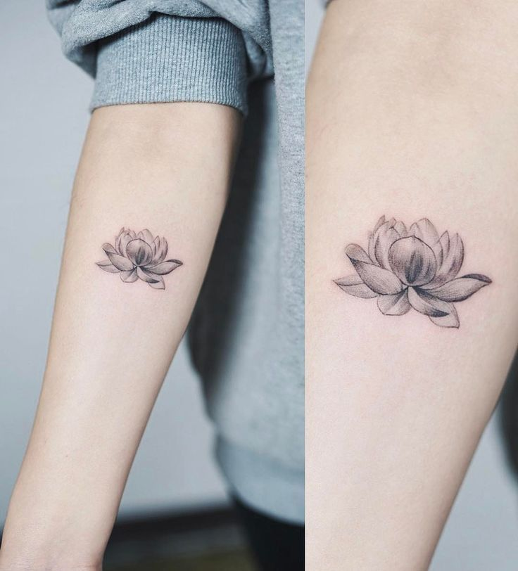 "5,995 likes, 27 comments - Nando Tattoo (nandotattooer) on Instagram: ""Line Lotus. . #tattoo #nandotattoo #lotus #flower - Today Pin"