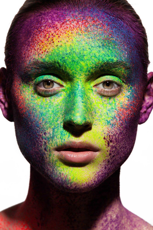 pointillism makeup - Google Search