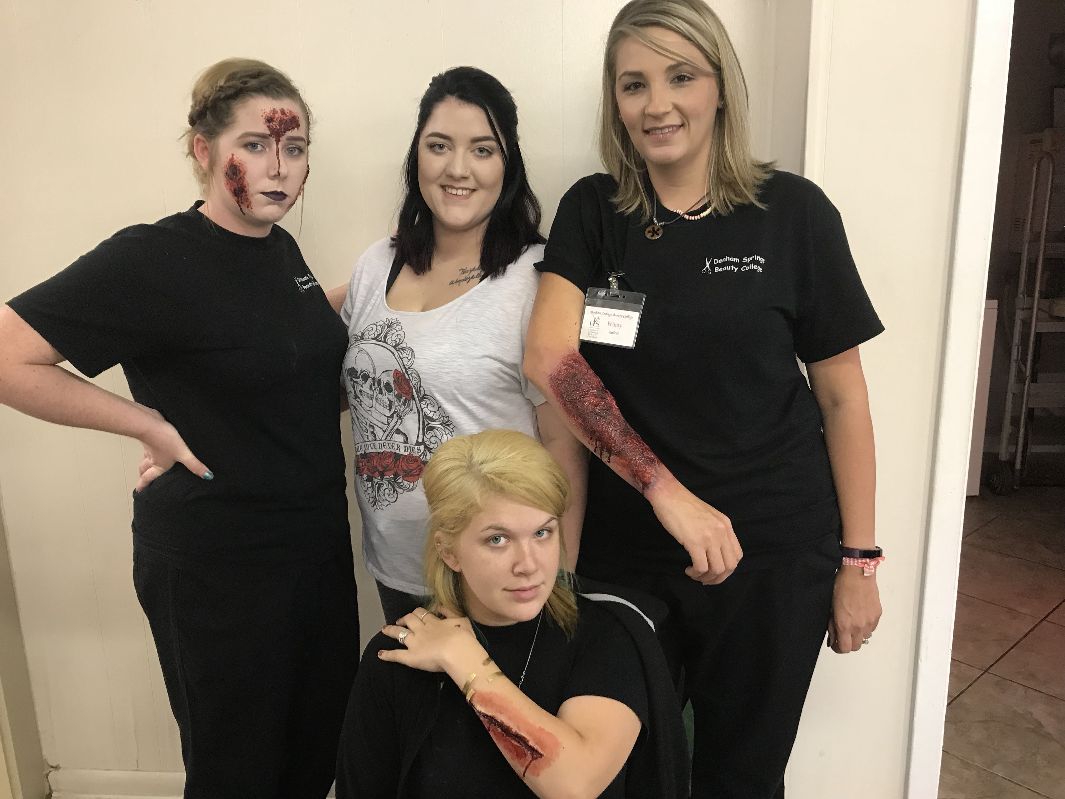 pin by denham springs beauty college on special effects makeup