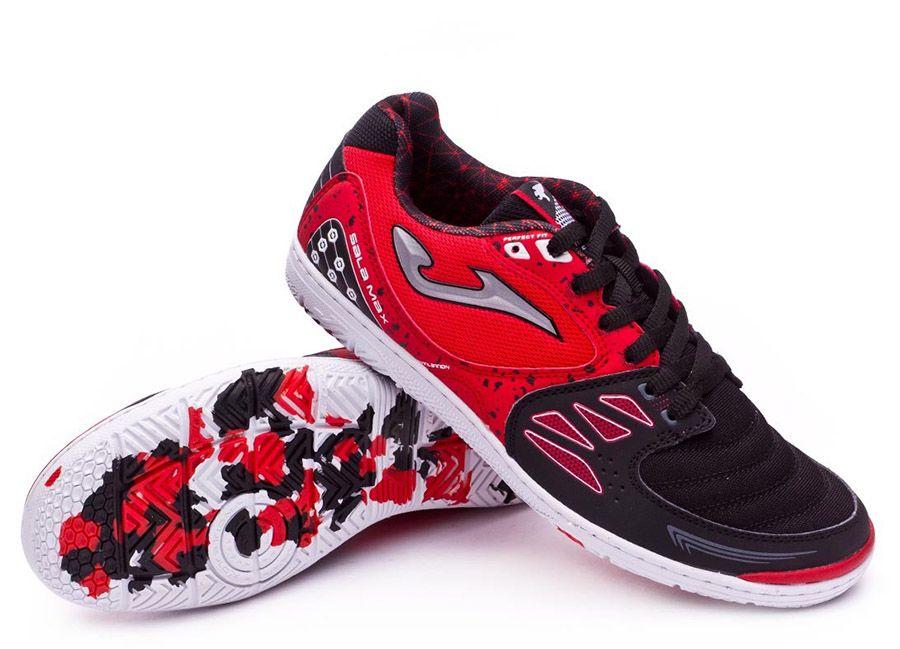 Coronel yermo Simplemente desbordando  football #soccer #futbol #futsal Joma Sala Max - Red / Black | Futsal  shoes, Joma, Black and red