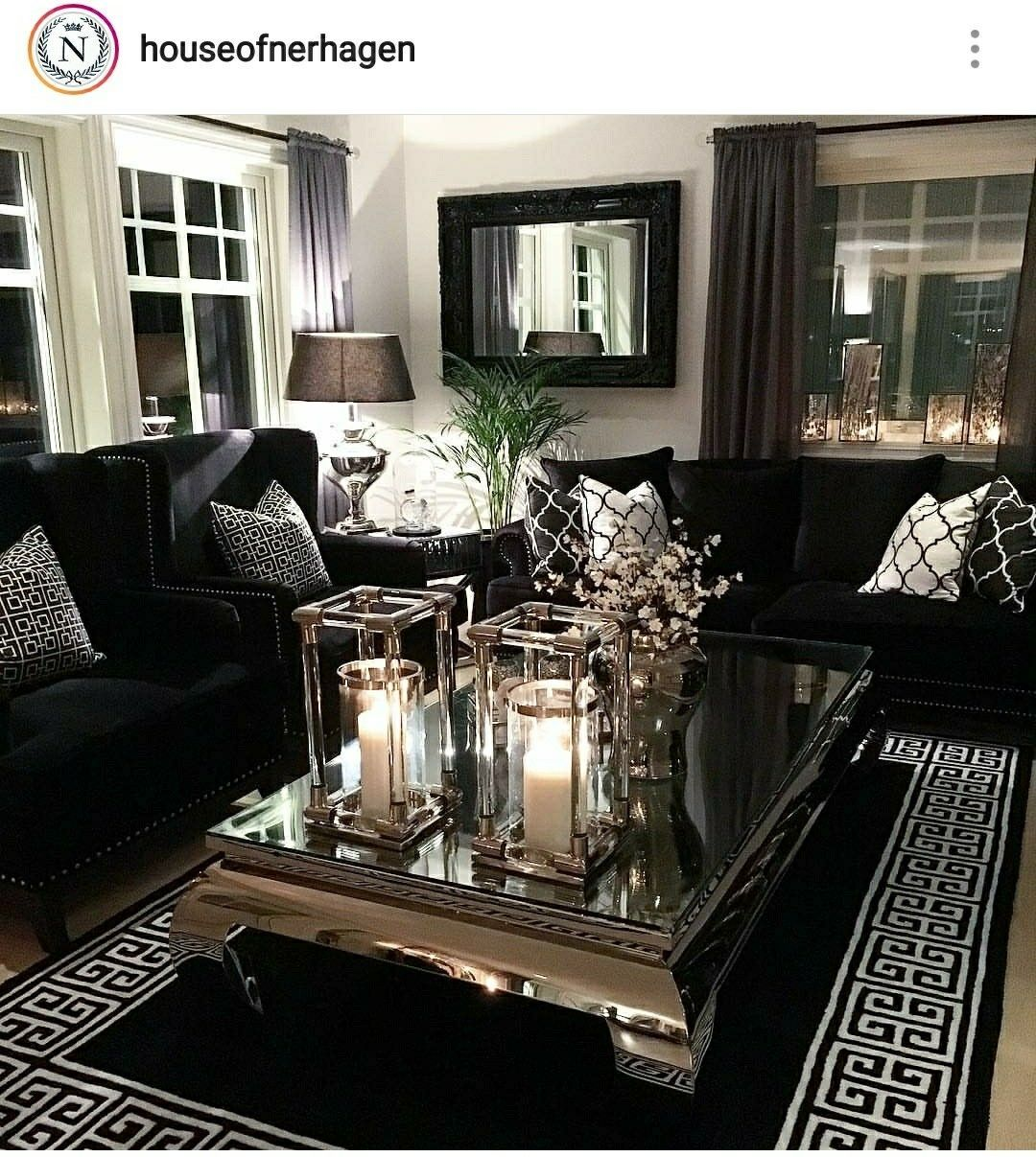 Black Sofa And Chairs For Media Room Couches Living Room Apartment Black Living Room Dec In 2021 Couches Living Room Apartment Gold Living Room Black Couch Living Room