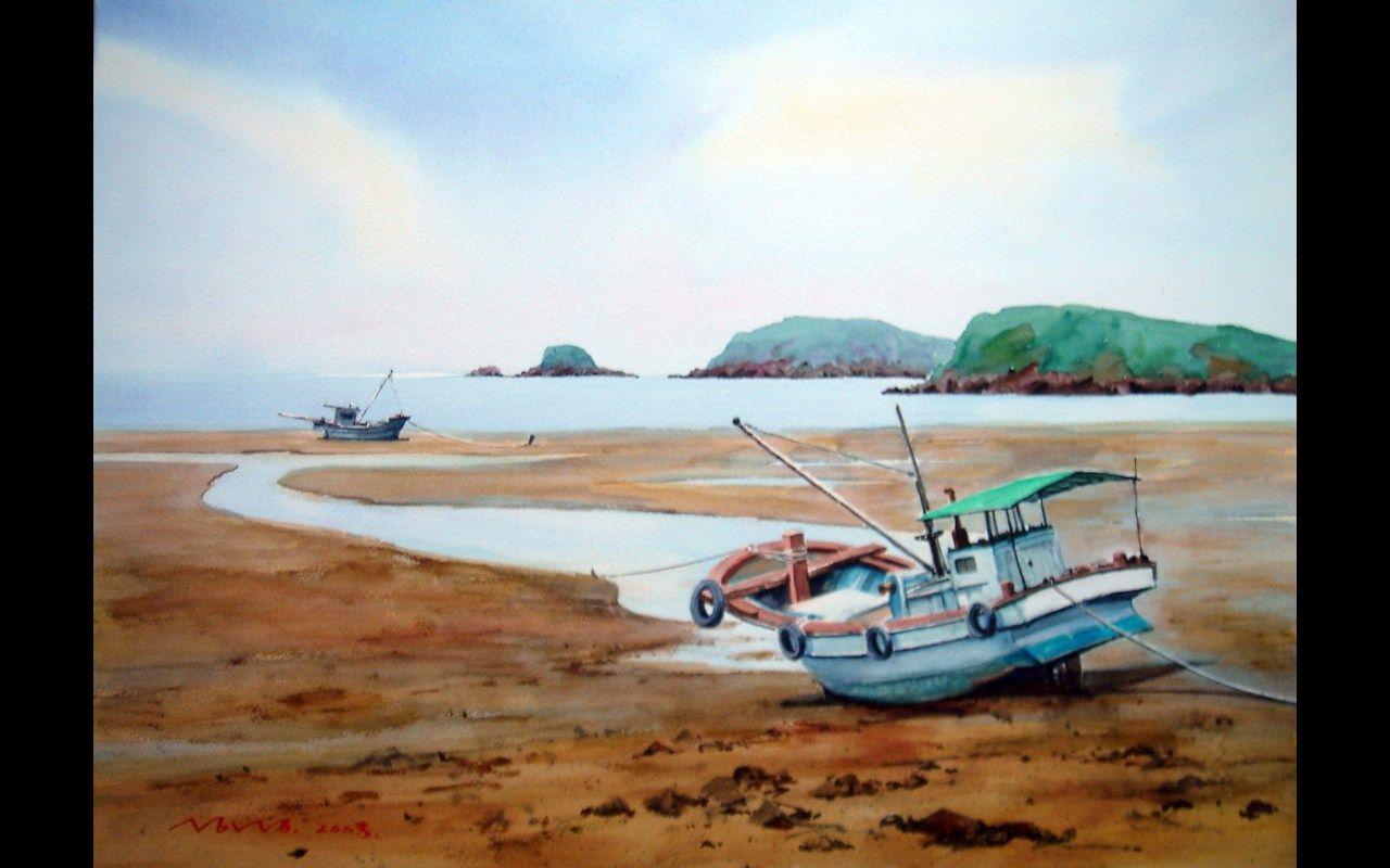 기다리는마음  watercolor by insung Jung