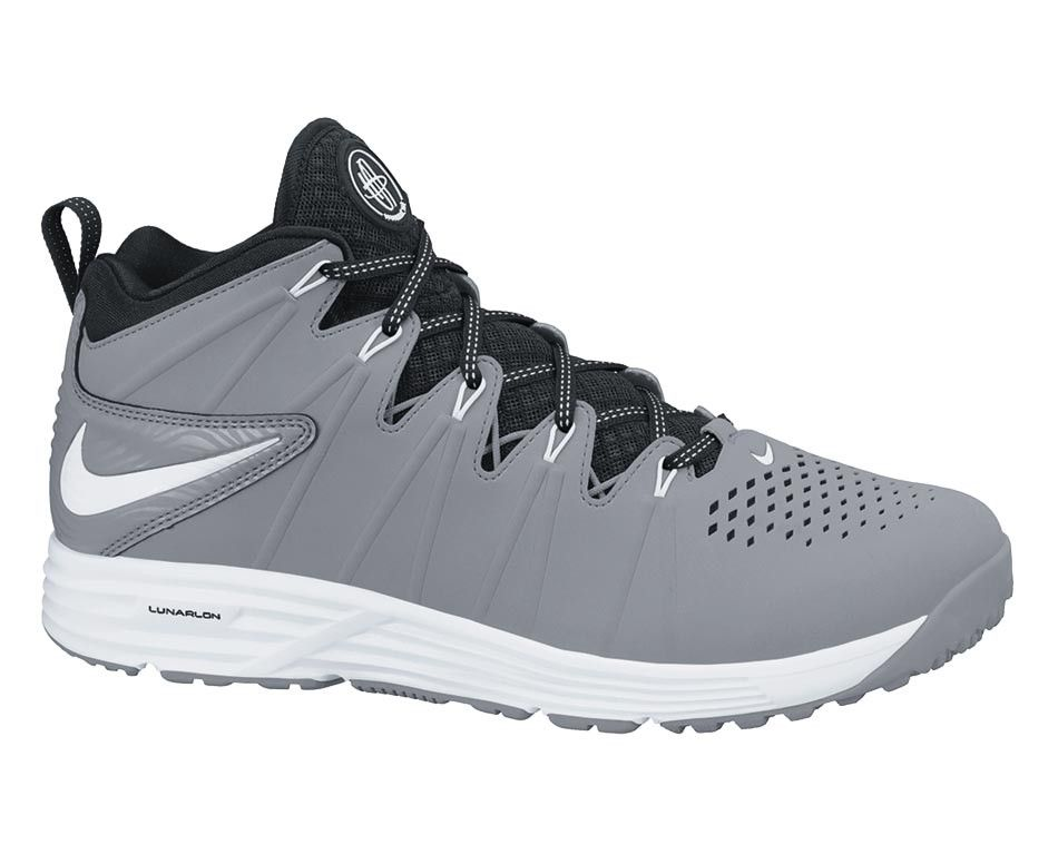 Nike Huarache 4 LAX Turf-Gray/Black