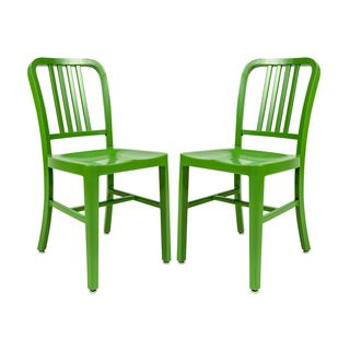 Somette Alton Modern Green Dining Chair - Overstock Shopping - Great Deals on Somette Dining Chairs