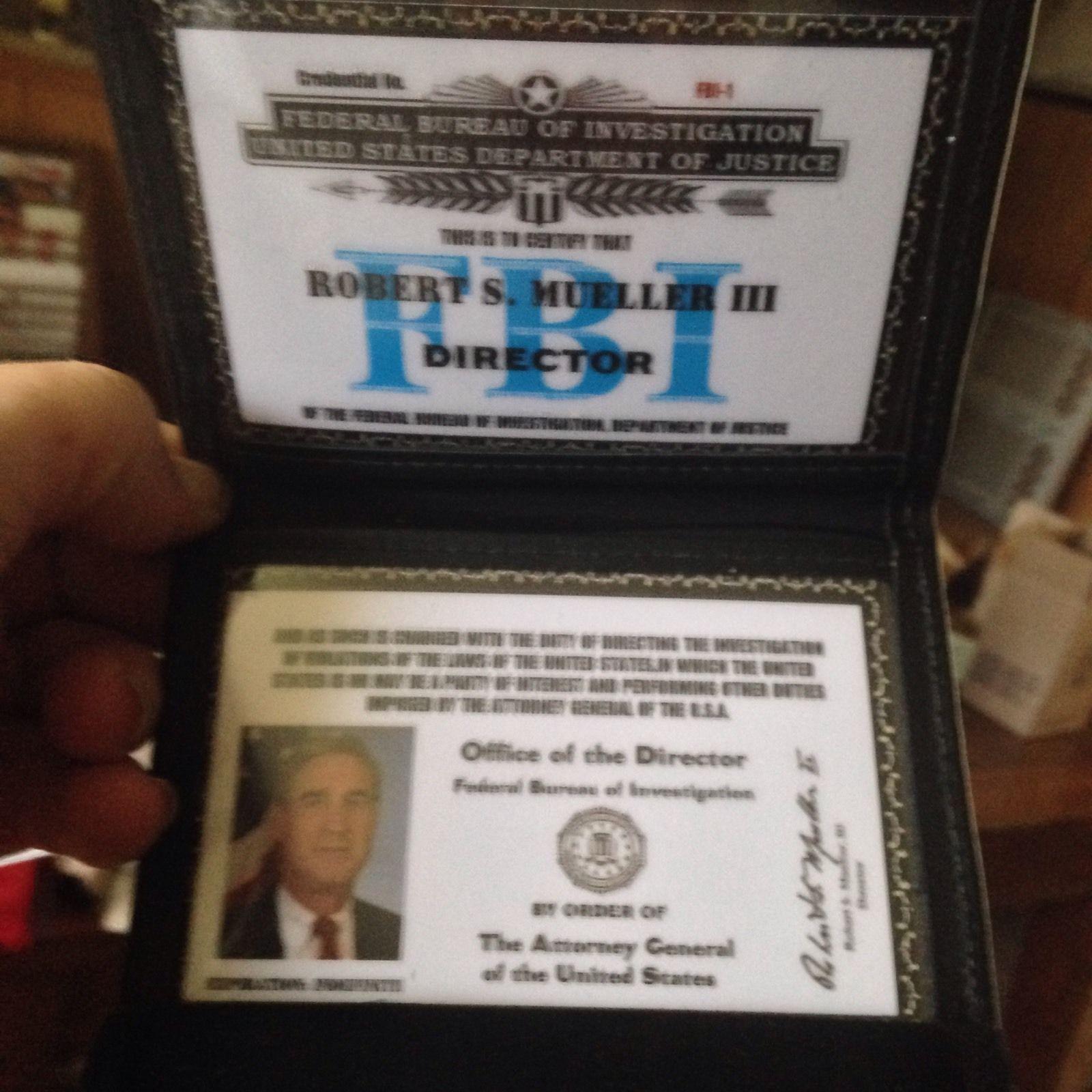 Sample Fbi Identification Federal Law Enforcement