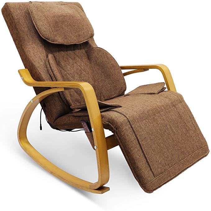 Furgle Massage Chair w/Air Compress 3D Shiatsu
