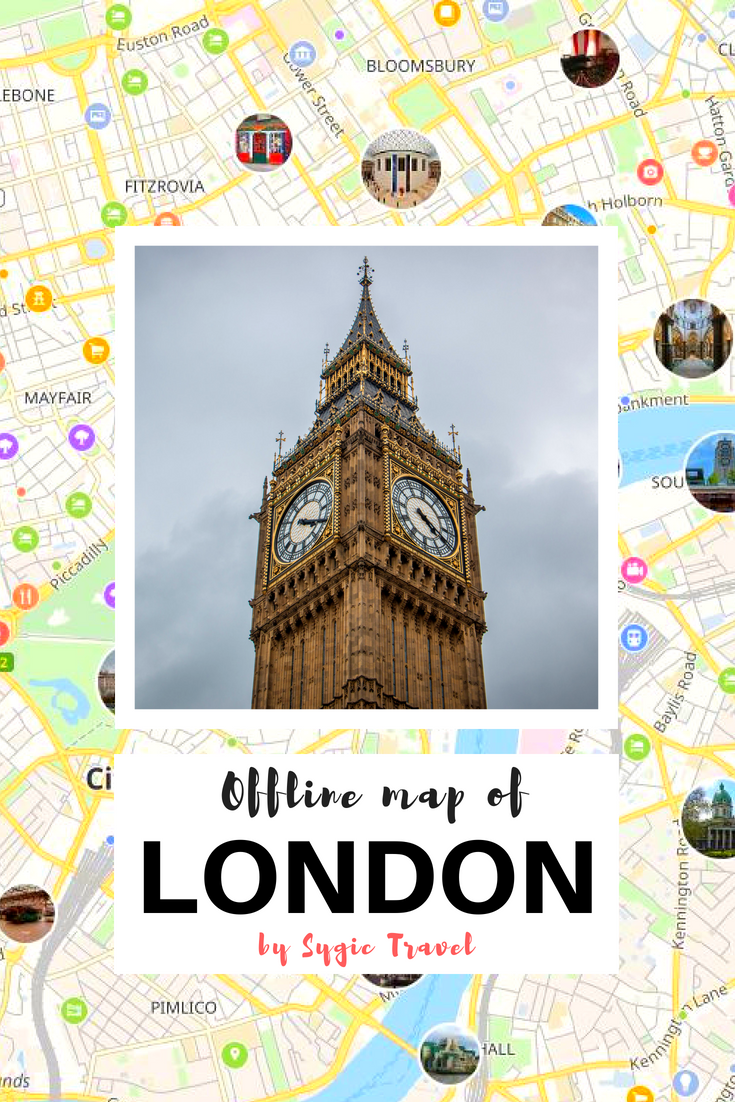 Offline map of London, UK, by Sygic Travel. Download the