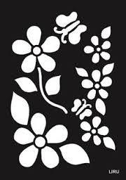 Resultado De Imagem Para Moldes Vazados De Flores Para Imprimir