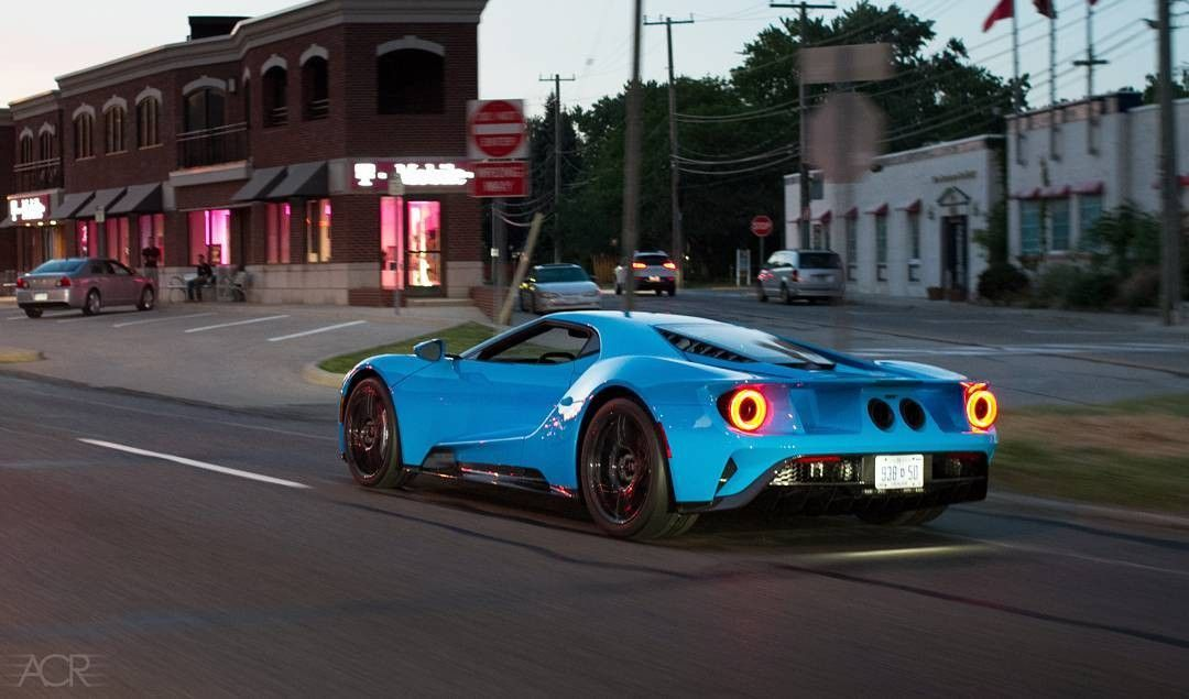 2017 Ford Gt 1 Of 1 Riviera Blue Owned By The Creator Of The Ford