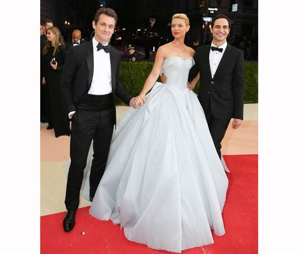 Zac Posen designed a total stunner for the Homeland actress...