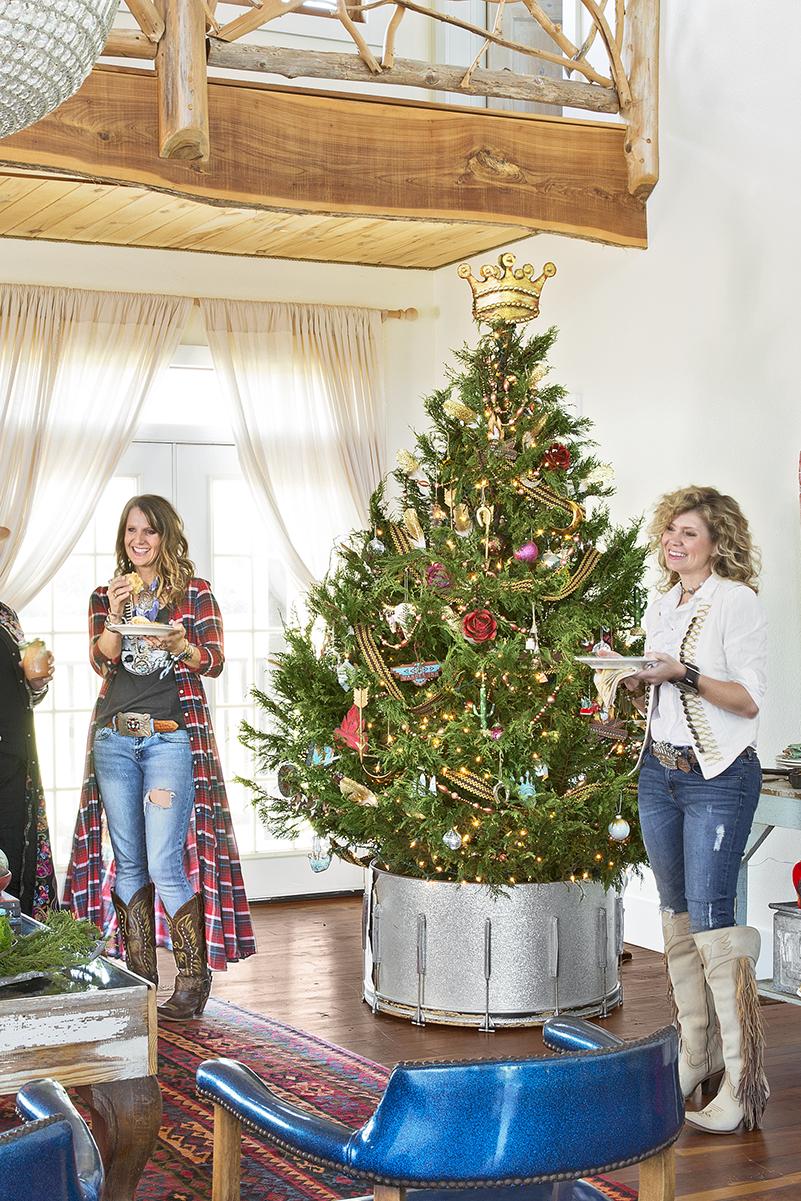 Christmas Tree Stand Drum winter seasonal autumnwinter