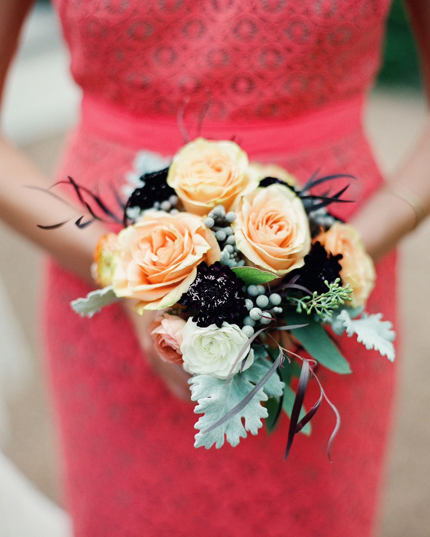 49 Bridesmaid Bouquets Your Girls Will Love Bridesmaid Bouquet Wedding Bouquets Coral Wedding