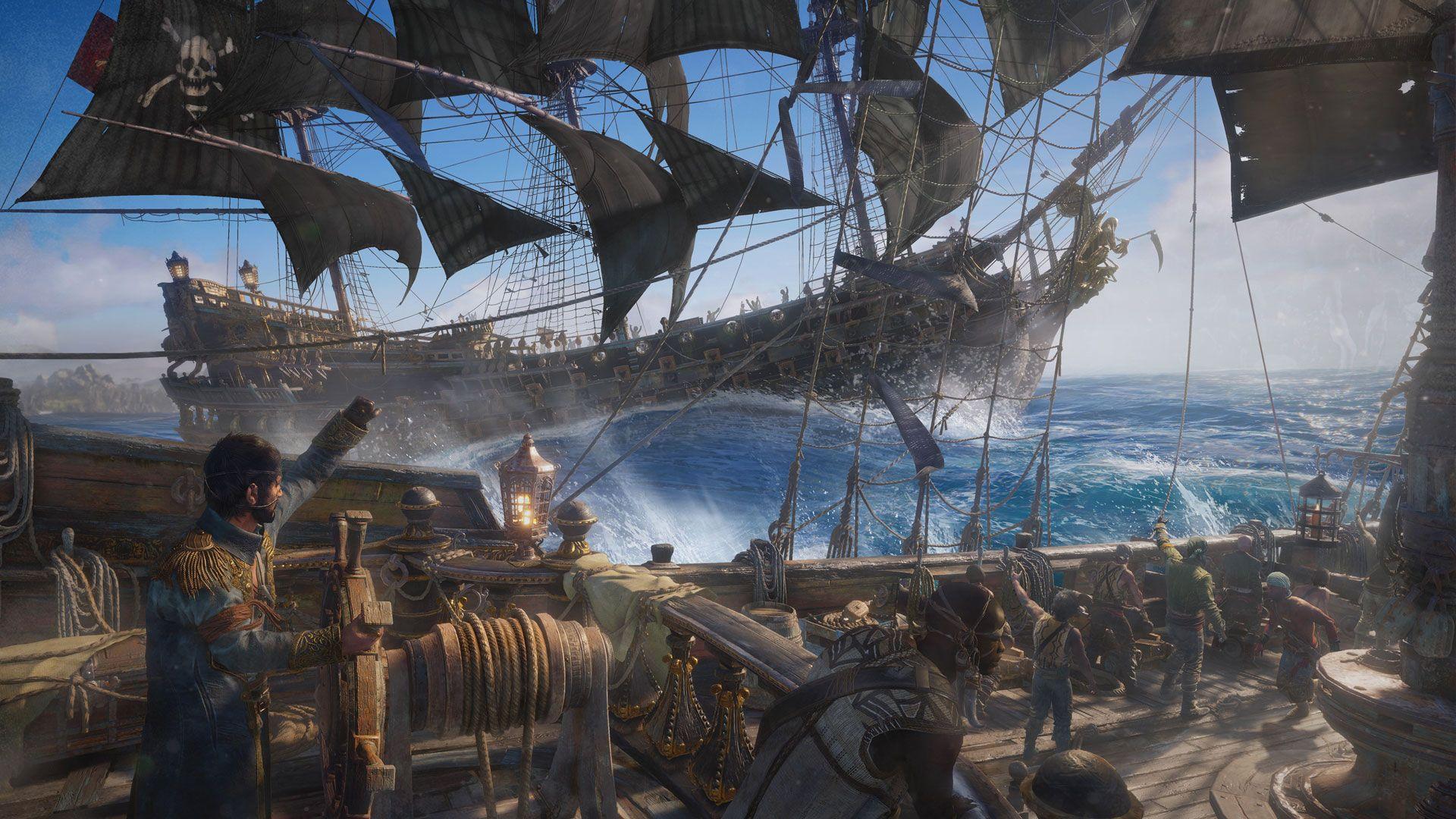 Skull And Bones Pirate Sea Pirates Skull Bones Bones Game